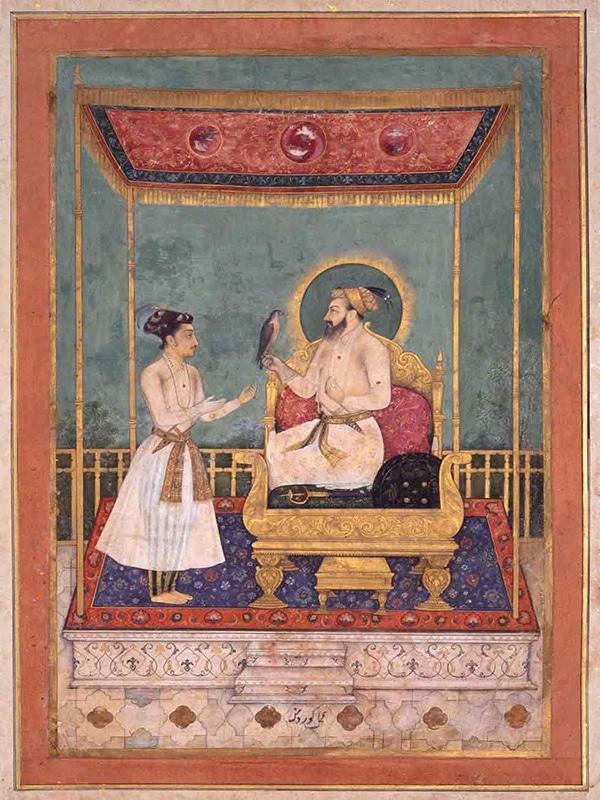 نقاشی های مینیاتوری حیرت انگیز متعلق به امپراتوری مغول هند