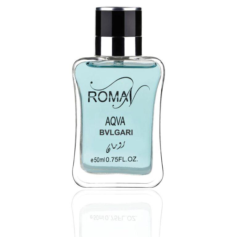 ادو پرفیوم مردانه رومان مدل بولگاری آکوا پور هوم حجم 50 میلی لیتر   Bvlgari Aqva Pour Homme  کد 260