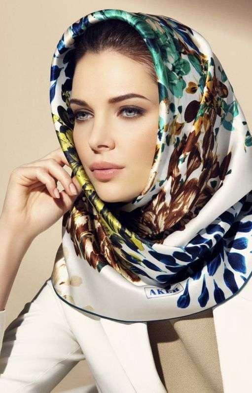 روسری رنگ