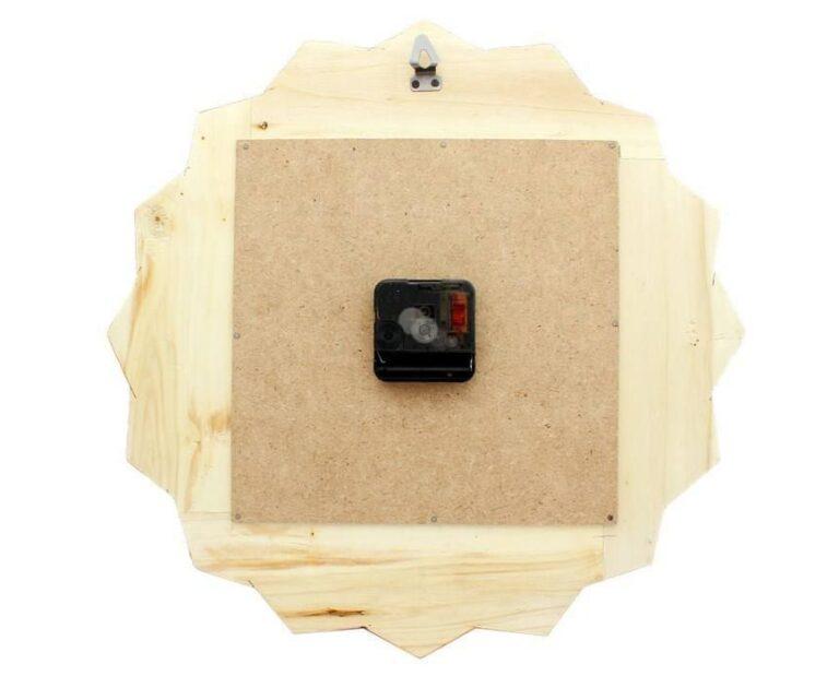 ساعت دیواری خاتم کاری  مدل خورشیدی کد 275